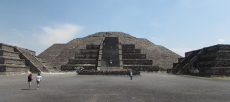 Teotihuacan, Mexico- Abril 2016